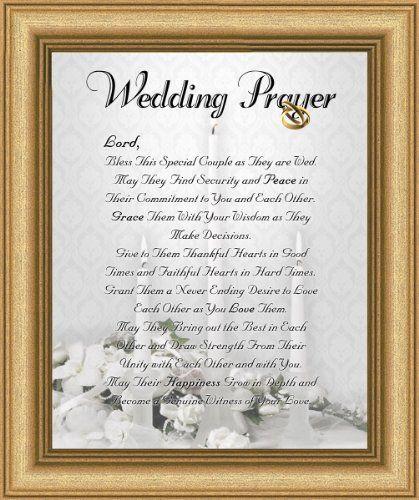 "Biblical Wedding Anniversary Wishes | Wedding Marriage Anniversary Prayer Satin Gold Frame 8"" X 10 ..."