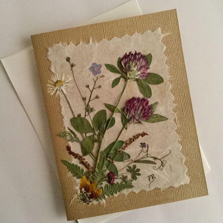 открытки из сухоцветов ручная работа дома, которые