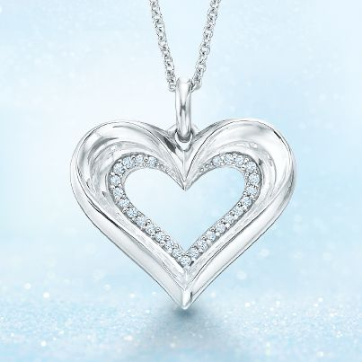 228 best hearts images on pinterest heart jewelry for Where is zales jewelry