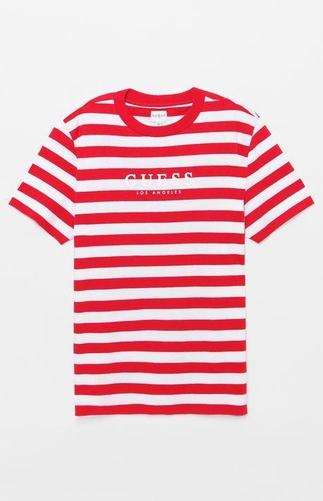 3f2f7a44168 Palm Striped T-Shirt | Clothes | T shirt, Long sleeve, Pacsun