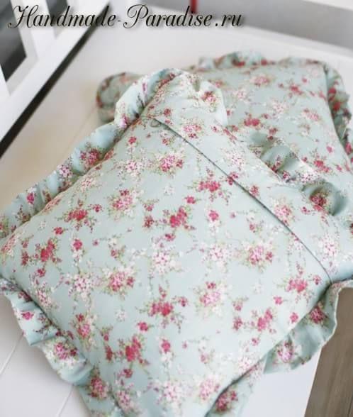 Как сшить наволочку на молнии для подушки - Handmade-Paradise