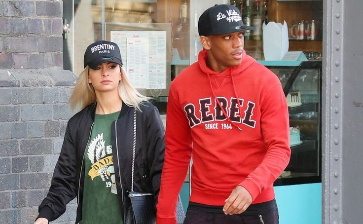 ANTHONY MARTIAL STEP OUT FOR LUNCH WITH HIS GIRLFRIEND MELANIE DA CRUZ PIRES AFTER BURNLEY WIN
