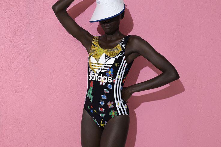 "adidas Originals = Pharrell Williams ""Pink Beach"" (Drop 2)   The Hype BR"