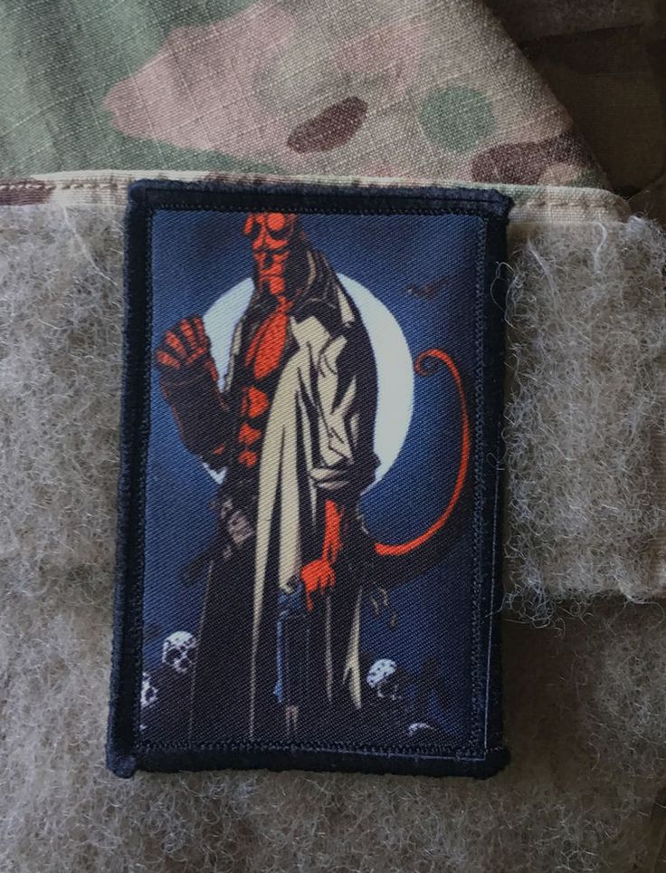 Hellboy Comic Morale Patch Tactical Military Army Badge Hook Flag | Collectibles, Militaria, Current Militaria (2001-Now) | eBay!