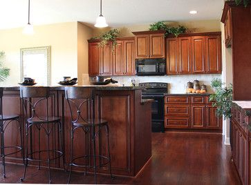 Brindleton Maple kitchen cabinets - traditional - kitchen cabinets - kansas city - Cabinet Giant