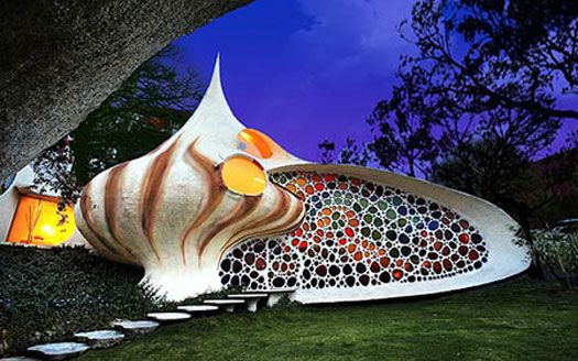 Seashell House Is Unbelievably Awesome, Mexico - 40 Bizarre and Incredible Building Design – Part 2