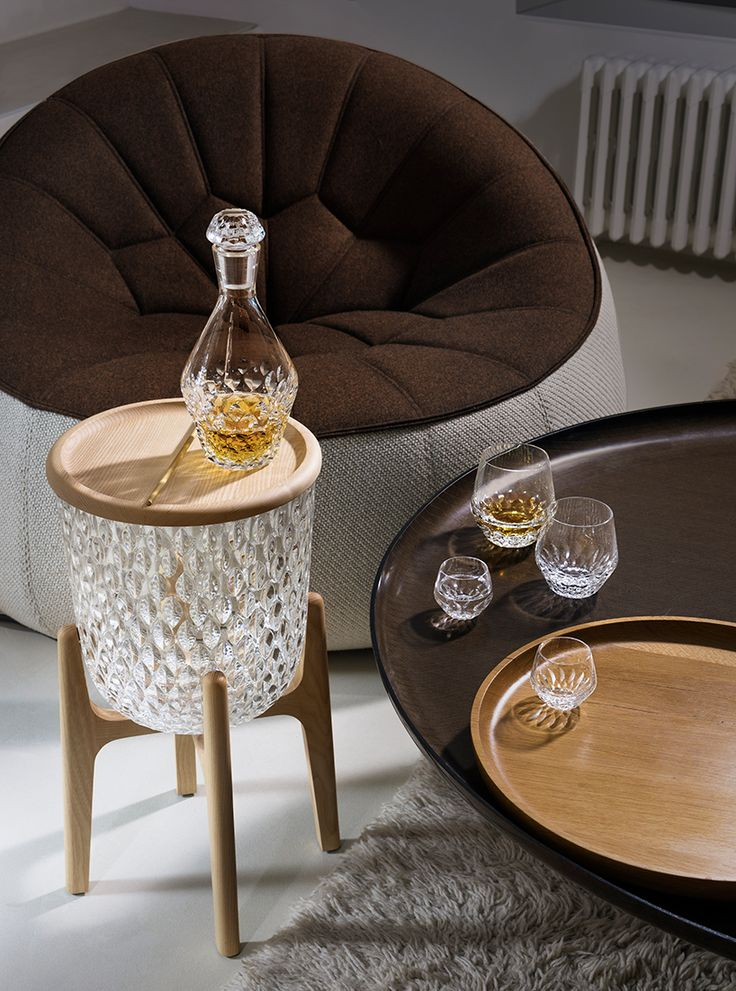 St Louis Crystal And No Duchaufour Lawrance Present The Folia Collection Design TrendsAccent TablesFurniture