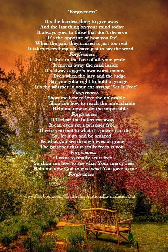 Christian songs for forgiveness