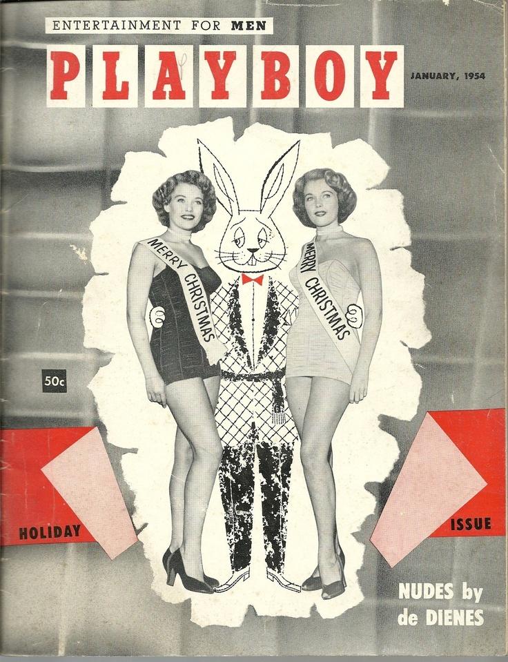 Vintage Playboy magazine January 1954