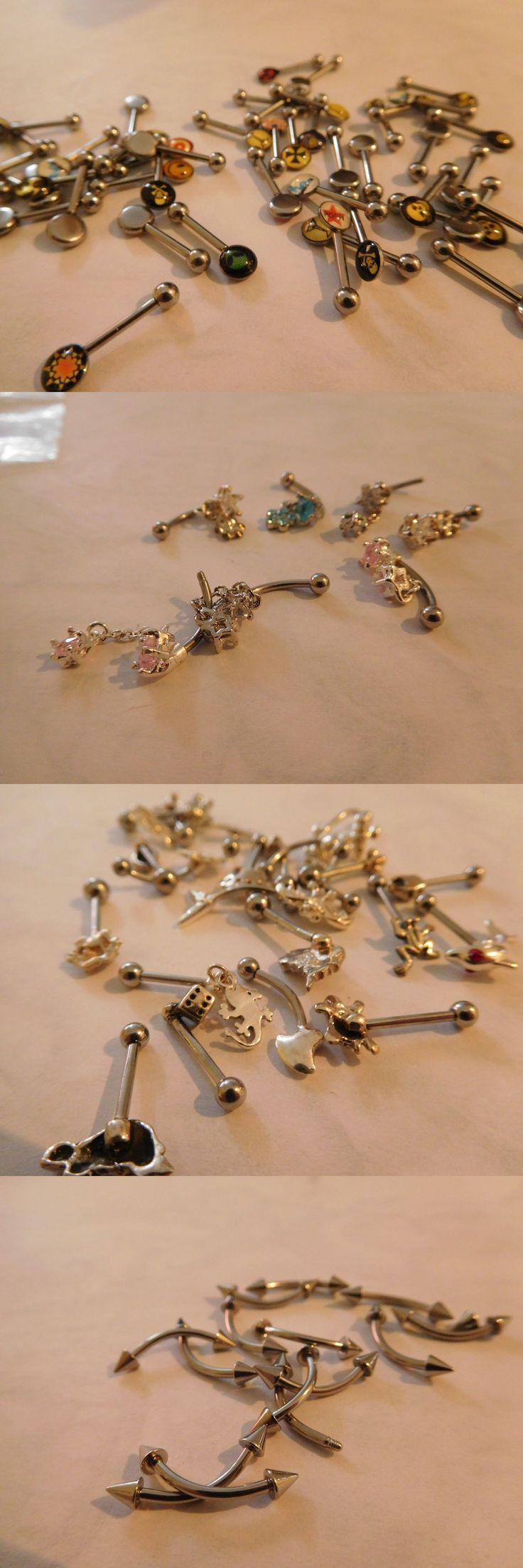 Other Wholesale Body Jewelry 51011: Body Jewelry Eyebrows Lot Of 116 BUY IT NOW ONLY: $53.0