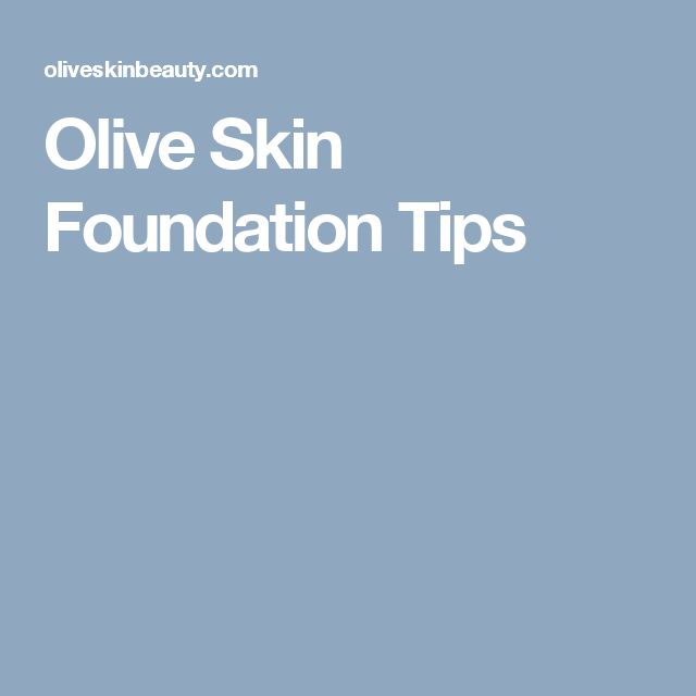 Pale And Light Olive Skin Tips... So many people believe olive skin must be tan or medium-dark but that's such a misconception! Olive skin is just a green tone in ANY color or shade of skin.
