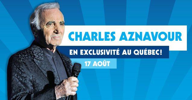 Montgolfières - Saint Jean Sur Richelieu - concert de Charles Aznavour le 17 aout 2013