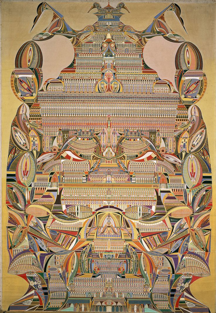 Augustin Lesage (1876-1954), was a French coal miner who became painter and artist through the help of what he considered to be spirit voices