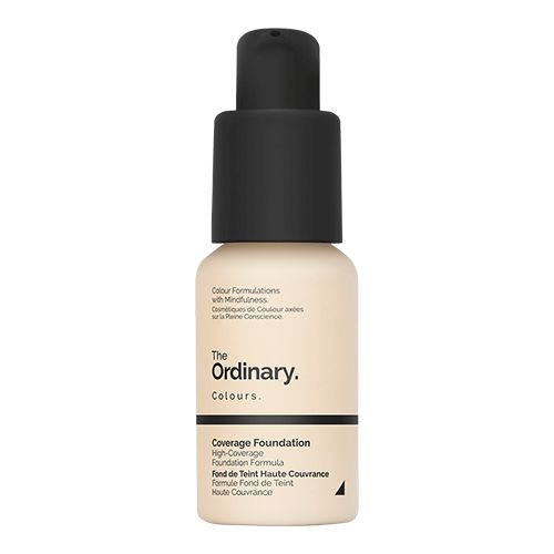 The Ordinary Serum Foundations are lightweight medium-coverage formulations available in a comprehensive shade range across 21 shades. These foundations offer moderate coverage that looks natural with a very lightweight serum feel. They are very low in viscosity and are dispensed with the supplied pump or with the optional glass dropper available for purchase separately if preferred.