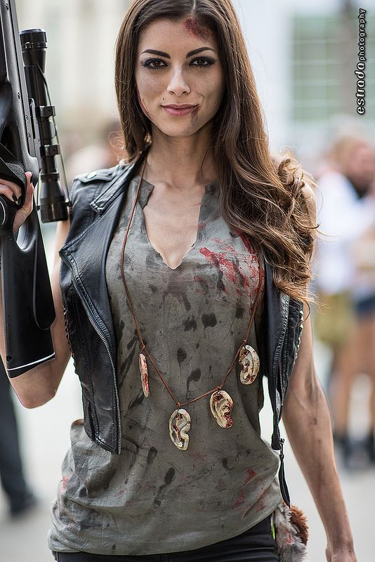 Daryl Dixon (Walking Dead) #cosplay by Leanna Vamp at WonderCon 2013