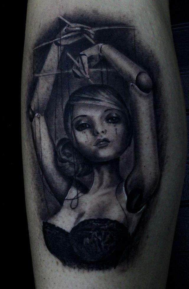 Puppet Tattoo | Best tattoo design ideas
