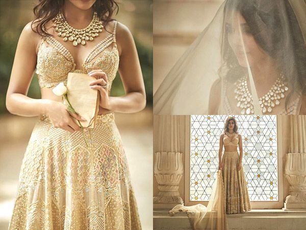 Oh My! Did Samantha Ruth Prabhu just reveal her look for the grand wedding? We can't take our eyes off her!