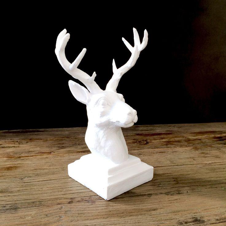 17 Best Ideas About White Deer Heads On Pinterest Faux