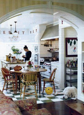 Life Outside the Bubble: french bistro kitchen