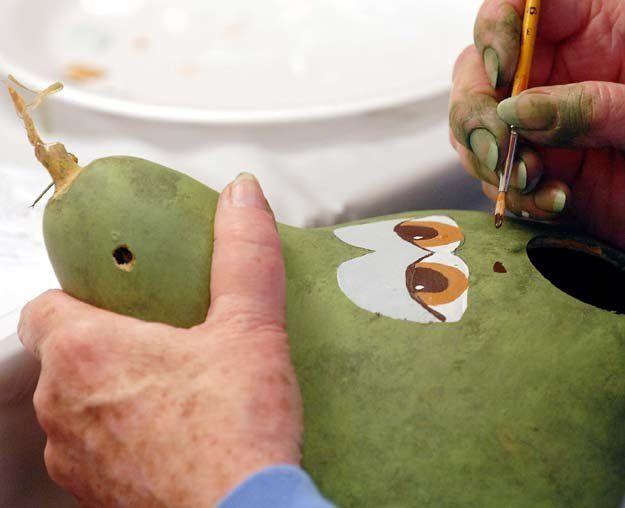 Free Gourd Patterns To Print | Gourd Birdhouse workshop | al.com