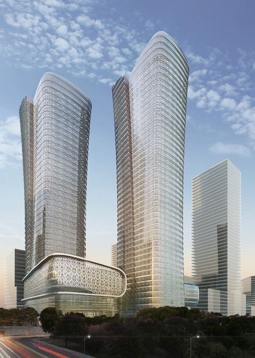 17 best images about skyscrapers on drawing board on for Cube suites istanbul