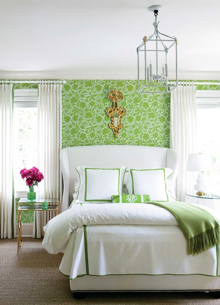 Bedroom Decorating Ideas Green