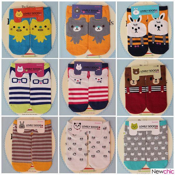 $4.23 Cute Animal Socks