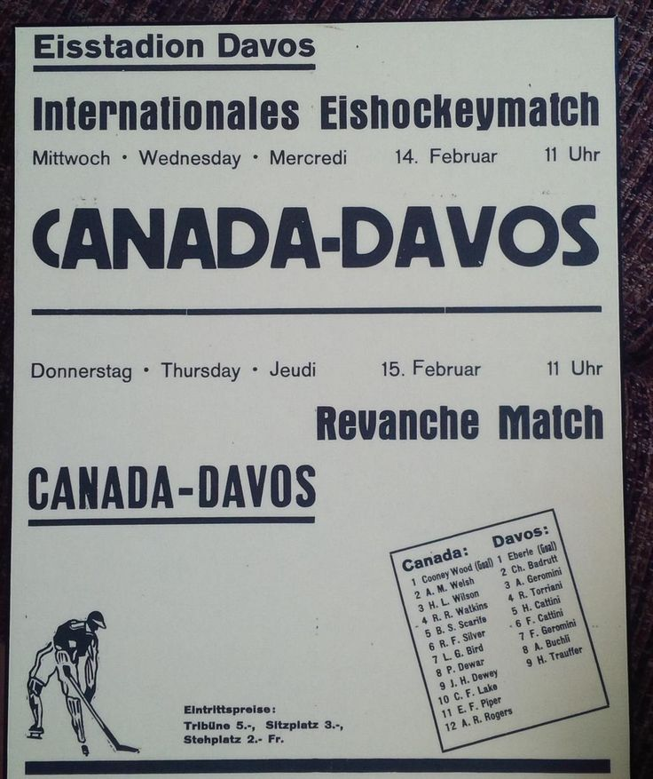 @HCD_News 1934 Poster for games, we had just won the #worldchampionship #Canada
