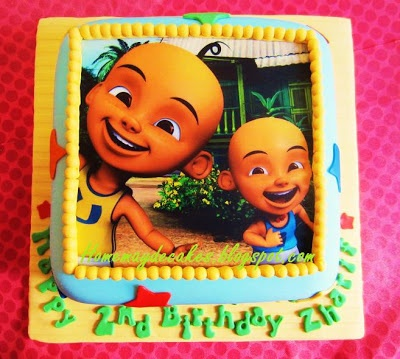 15 best upin ipin birthday images on pinterest 2nd birthday home mayde cakes gallery upin ipin cake stopboris Image collections