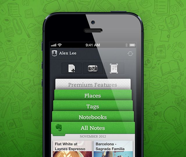 New Evernote