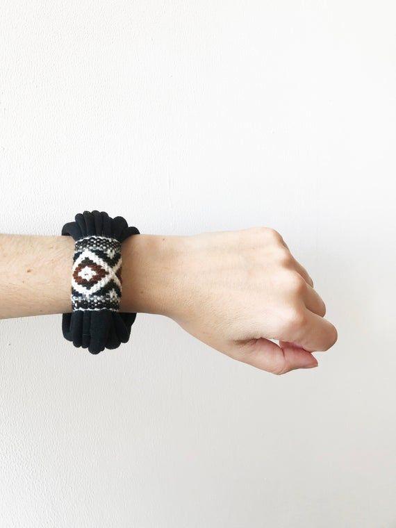 Boho wrap bracelet fabric bracelets textile bracelet boho | Etsy  – accessories