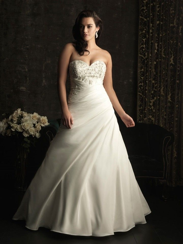 18 Best Plus Size Wedding Dresses Images On Pinterest Wedding