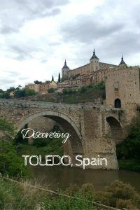 Things to do in Toledo Spain image for pinterest