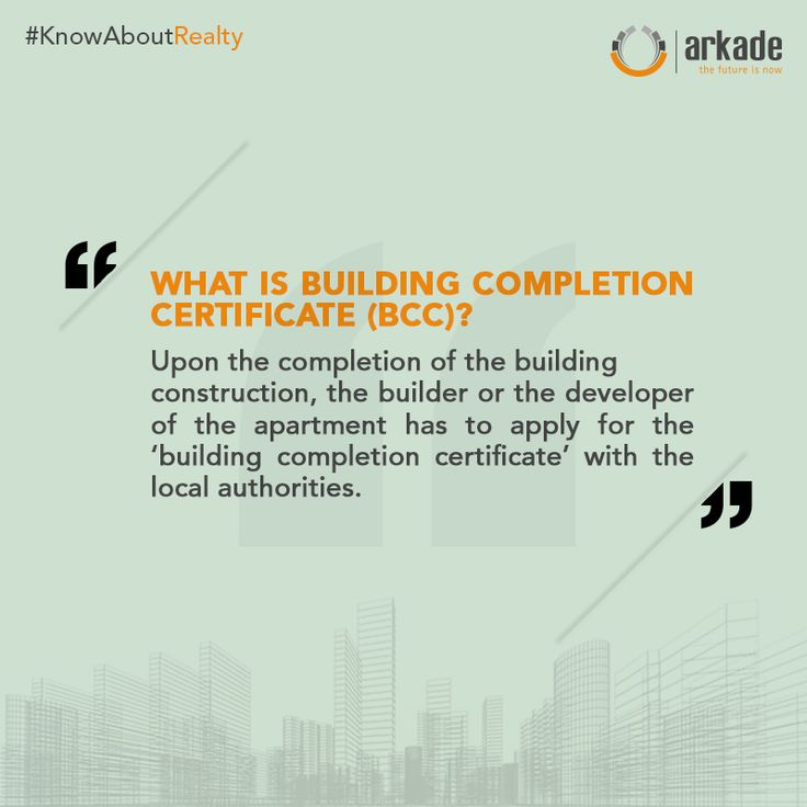 KnowAboutRealty What Is Building Completion Certificate (BCC)? www - certificate of construction completion
