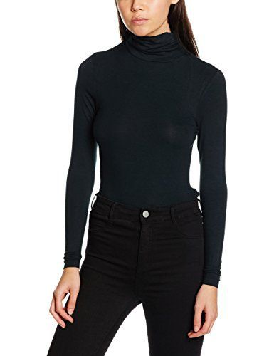 New Look Petite Women's Rosie Ruche Roll Neck Long Sleeve Top  buy now from Amazon    coats, hoodies, Jumpsuit, Knitwear, nightwear, oversized sweaters, Playsuit, Shirts, Tops