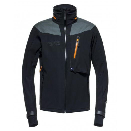 When the weather conditions are likely challenging, but the environment requires a strong performance, this soft-shell make every measures possible. Seam sealed and water repellency keep the body dry even when the weather chances.