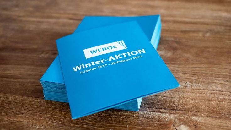 Das neue Jahr beginnt bei der Werol GmbH mit der WINTER-Aktion. Ich habe hierzu die Folder im praktischen DIN A5 Format erstellt - so können diese ganz bequem jedem Brief beigefügt werden :) --- Über folgenden Link kannst du den Folder ansehen: http://www.werol.ch/wp-content/uploads/2016/12/Winter-Aktion-2017_Webansicht.pdf