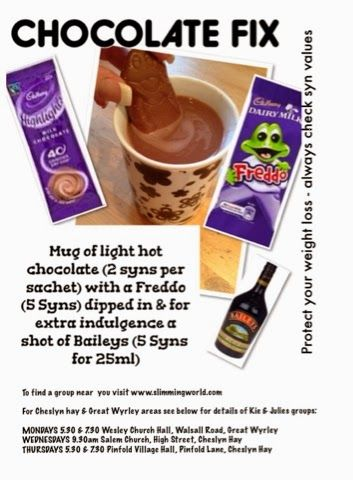 ♥Kies World ♥ Slimming World Chocolate Fix
