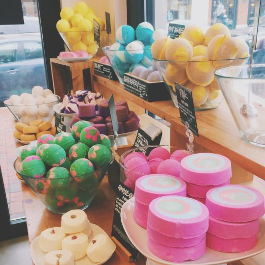 I need to go to lush soon or I'll seriously explode
