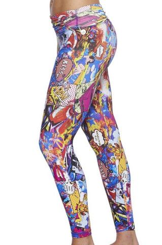 Stand out in the crowd with our brand new prints! Easy to wear, Amni Lycra is the perfect summer fabric to keep you cool and comfortable. Leggings are ONE SIZE and suits sizes S-10 and M-12