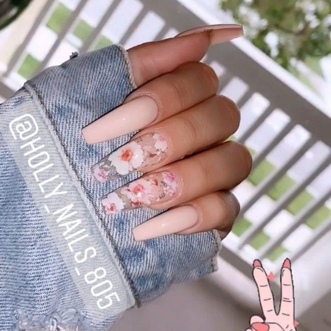 61 Top Coffin Nails Ideas For This Summer 2019 35 Elroystores Com Best Acrylic Nails Nail Designs Glam Nails