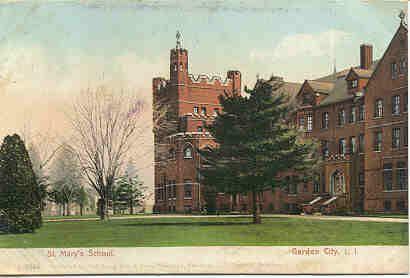 Saint Mary's School in Garden City NY - early 1900's