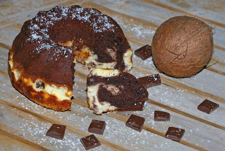 Mni receptgyűjteménye: Kókuszos-csokis kuglóf