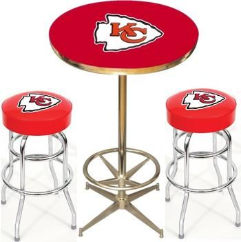 Elegant Kansas City Chiefs Bar