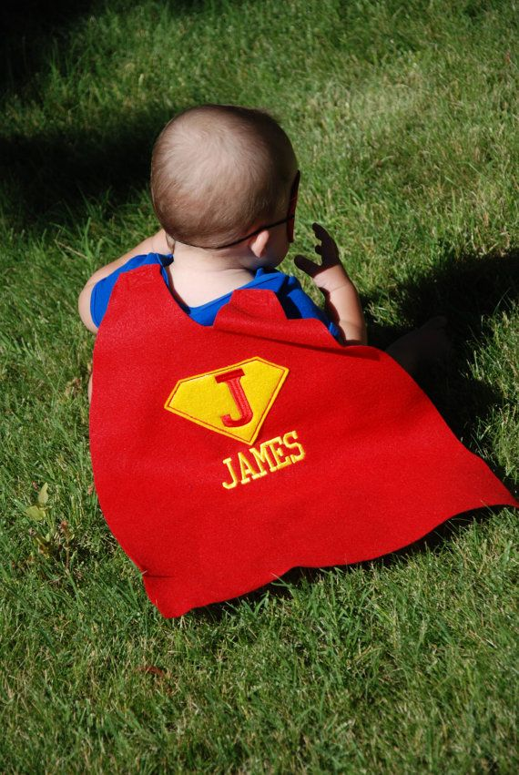 Baby super hero outfit/ Baby super hero cape/ Baby photo prop/Baby girl super hero set, baby first birthday outfit, baby costume