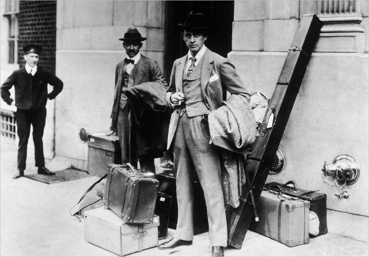 slickJohn Barrymore, Paetina Men, Globes Trott Luggage, Globes Trotter Luggage, International Men, Globetrotter Luggage, Travel Style, Men Collection, 1924 Barrymore