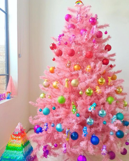 25 unique Rainbow christmas tree ideas on Pinterest  Ombre