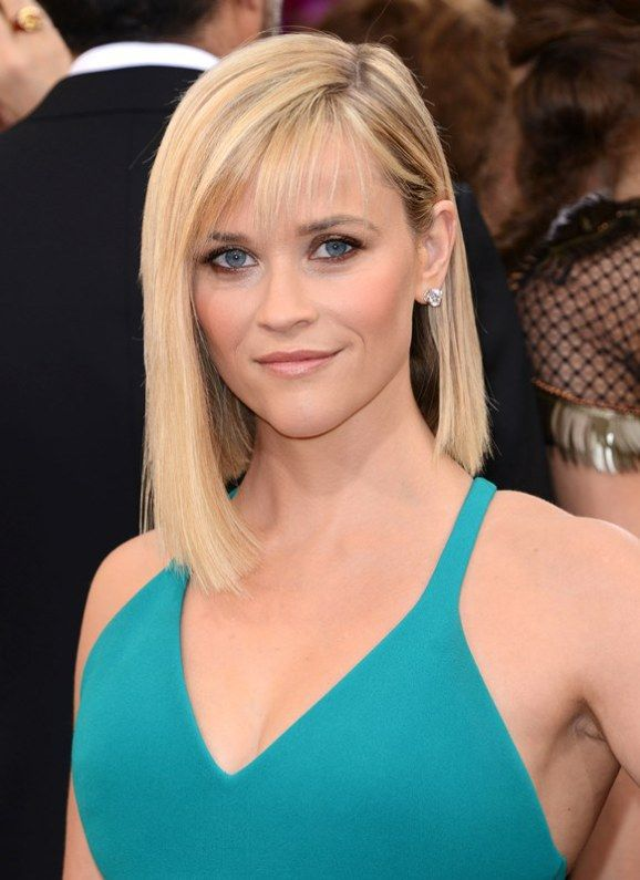 Reese Witherspoon asymmetric bob