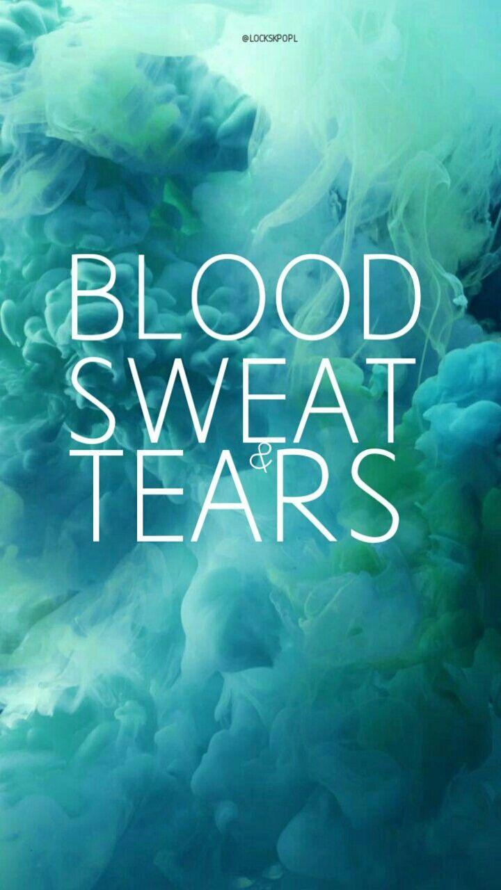 BTS blood sweat and tears me encantaaaaaa