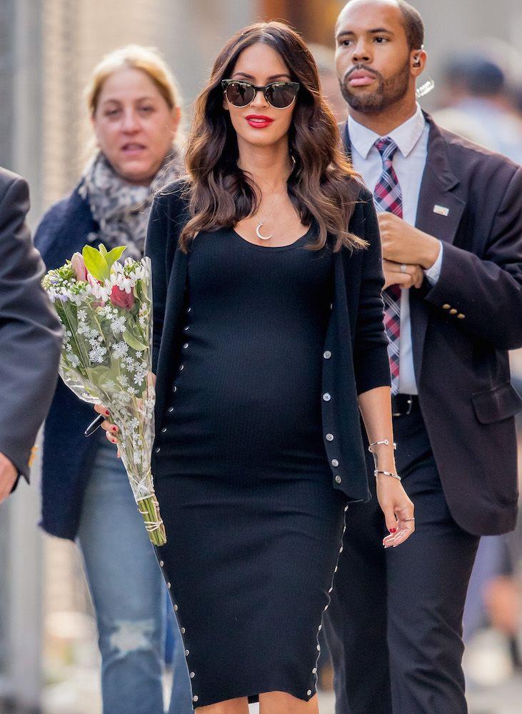 stylishly pregnant celebrities